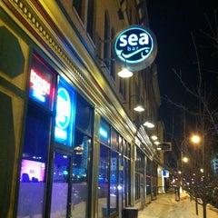 Photo taken at SeaBar City by Bill F. on 2/13/2011