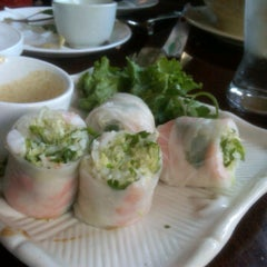Photo taken at L'Annam Vietnamese Cuisine by Ilie K. on 10/16/2011