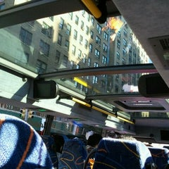 Photo taken at Mega Bus - 7th Ave & 27th St by Mike F. on 9/19/2011