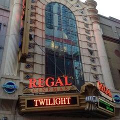 Photo taken at Regal Cinemas E-Walk 13 & RPX by Richard on 7/2/2012