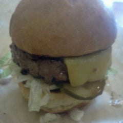 Photo taken at Little Big Burger by Michael A. on 9/4/2011