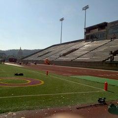 Photo taken at University of Charleston Stadium at Laidley Field by Logan S. on 10/22/2011