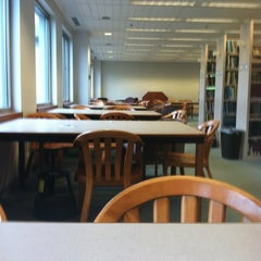 Photo taken at Snell Library by Jennie W. on 4/27/2012