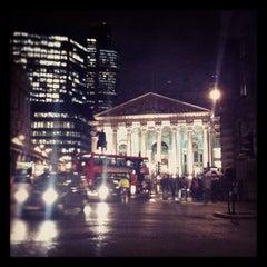 Photo taken at The Royal Exchange by Austin J. on 12/6/2011