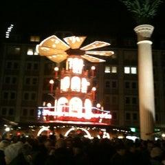 Photo taken at Leipziger Weihnachtsmarkt by Thomas E. on 12/15/2011
