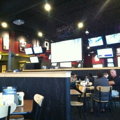 Photo taken at Buffalo Wild Wings by Nick K. on 5/10/2012