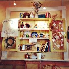 Photo taken at Lilla Parkkafeet by Aardbei W. on 9/12/2012