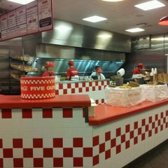 Photo taken at Five Guys Burgers And Fries by Sam W. on 11/13/2011