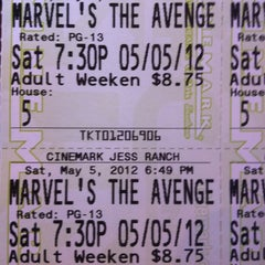 Photo taken at Cinemark Jess Ranch by Christina H. on 5/6/2012