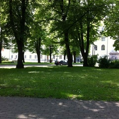 Photo taken at Pils laukums | Castle square by Artūrs Freimanis on 6/9/2012