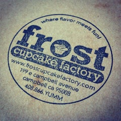 Photo taken at Frost Cupcake Factory by Vicki T. on 2/5/2012