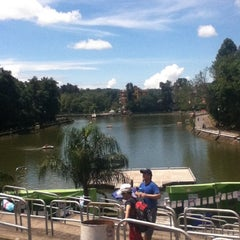 Photo taken at Parque de Los Lagos by Yami L. on 7/8/2012
