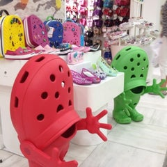 Photo taken at crocs 池袋サンシャインシティ店 by yoshitaka i. on 7/31/2012