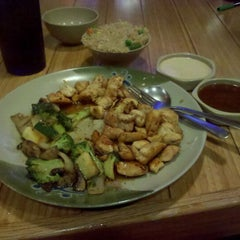 Photo taken at Tokyo Japanese Steakhouse by Sarah F. on 11/19/2011