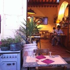 Photo taken at Trattoria da Mirella by Claudia L. on 8/18/2012