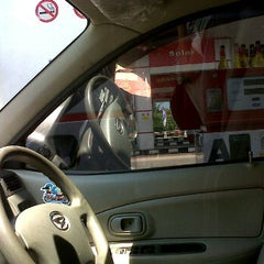 Photo taken at SPBU Km 9 by Mia S. on 4/2/2012