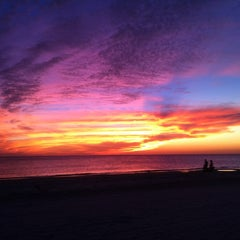 Photo taken at Madeira Beach by lenore r. on 10/24/2011