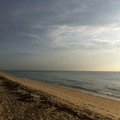 Photo taken at Lantana Beach by Liza S. on 8/21/2012