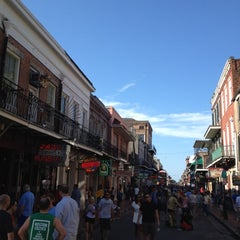 Photo taken at Rue Bourbon by Leslie K. on 6/16/2012