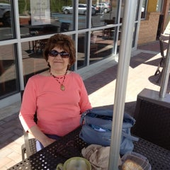 Photo taken at Panera Bread by Pamela M. on 4/17/2012