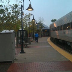 Photo taken at Frederick MARC Station by Aaron A. on 8/19/2011