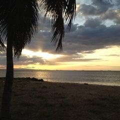 Photo taken at Playa Muerta by Jeanmarco R. on 1/4/2012