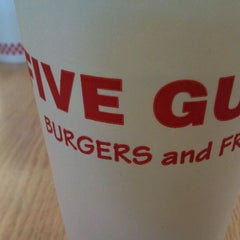 Photo taken at Five Guys by Mason S. on 1/21/2012