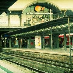 Photo taken at Mainz Hauptbahnhof by Peter C. on 9/8/2011