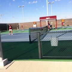 Photo taken at NMSU Tennis Center by Cheryl L. on 9/17/2011
