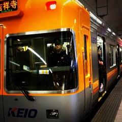 Photo taken at 京王井の頭線 渋谷駅 (IN01) by Shingo M. on 1/28/2012