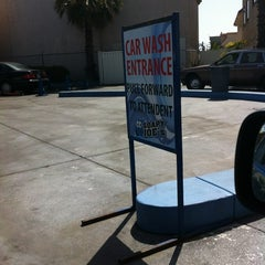 Photo taken at Soapy Joe's Car Wash by Michael W. on 5/19/2012