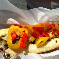 Photo taken at Bada Bing Philly Cheesteaks by Amy C. on 7/13/2012