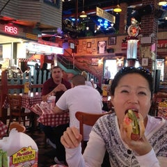 Photo taken at Portillo's by Peter C. on 5/9/2012