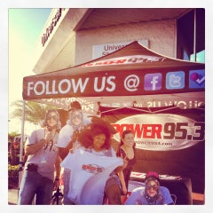 Photo taken at Universal Hyundai by Power 95.3 on 7/13/2012