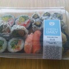 Photo taken at Sushi Shop by Chris B. on 2/3/2012