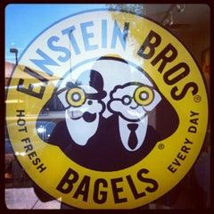 Photo taken at Einstein Bros Bagels by Zach N. on 6/8/2012
