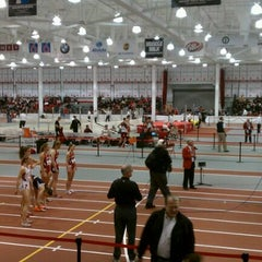 Photo taken at Bob Devaney Sports Center by Kelli B. on 2/25/2012