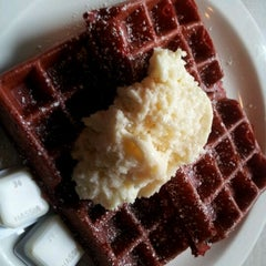 Photo taken at The Waffle by Alfred V. on 2/26/2012