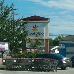 Photo taken at Super Stop & Shop by Rich W. on 9/9/2012