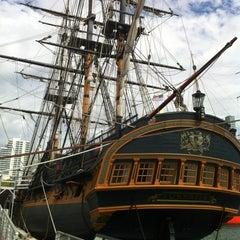 Photo taken at HMS Surprise by Travis C. on 4/25/2012