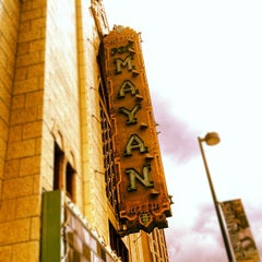 Photo taken at Mayan Theatre by Chris D. on 4/14/2012