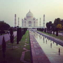 Photo taken at Taj Mahal | ताज महल | تاج محل by Nikita M. on 5/6/2012