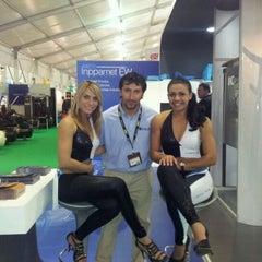 Photo taken at Espacio Riesco - Expomin 2012 by Migxel P. on 4/13/2012