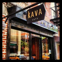 Photo taken at Kava Cafe by Jeff M. on 8/11/2012