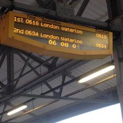 Photo taken at Epsom Railway Station (EPS) by Mark P. on 7/11/2012