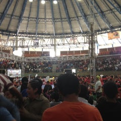 Photo taken at Polideportivo Ignacio Manuel Altamirano by Alejandro E. on 9/6/2012