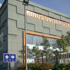 Photo taken at BINUS University by Shinta M. on 6/23/2012