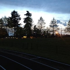 Photo taken at Clark College Track by Steve S. on 4/24/2012