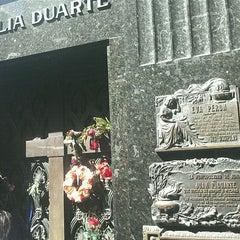 Photo taken at Eva Peron's Grave by Caroline S. on 4/5/2012