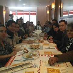 Photo taken at Doña Elvira by Carolina V. on 3/8/2012
